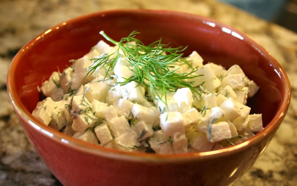 Turnip Salad With Fresh Dill Beets Amp Bones
