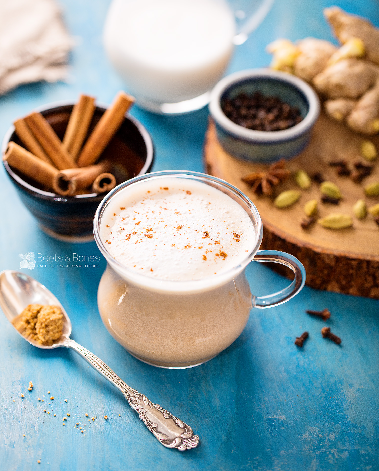 Fragrant Chai Tea Latte From Scratch